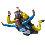 Tandem Skydive Selling Points in Barcelona